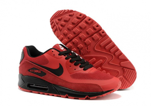 Nike Air Max 90 Hyperfuse (Red/Black)