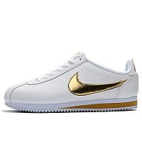 Nike Classic Cortez Leather White Gold