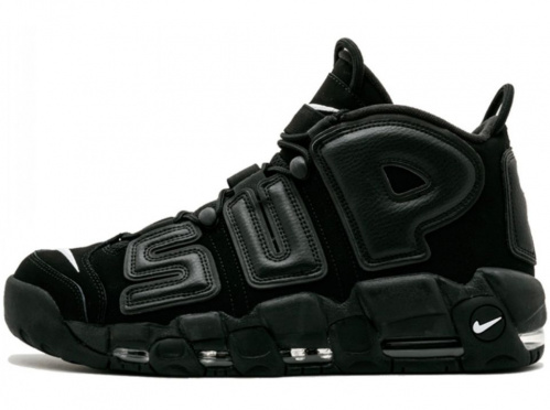 Nike Air More Uptempo X Supreme (Black)