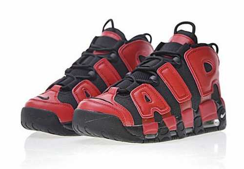 Nike Air More Uptempo Qs Black/Red