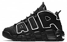 Nike Air More Uptempo (Black Black/White)