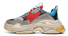 Balenciaga Triple S (Grey/Red/Blue)