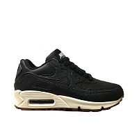 Nike Air Max 90 Premium (Black/Black/Sail/Gum/Med Brown)