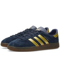 Adidas Originals Munchen Collegiate Navy & Gold