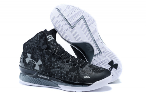 Under Armour Black Camo/Grey-White