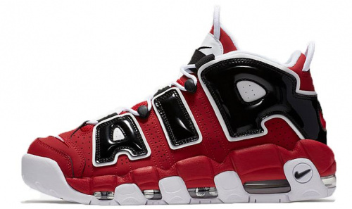 Nike Air More Uptempo «Chicago Bulls» (Red/White/Black)