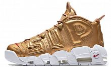 Nike Air More Uptempo X Supreme (Metallic Gold/White)