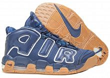 Nike Air More Uptempo Obsidian/Obsidian White Gum Light Brown
